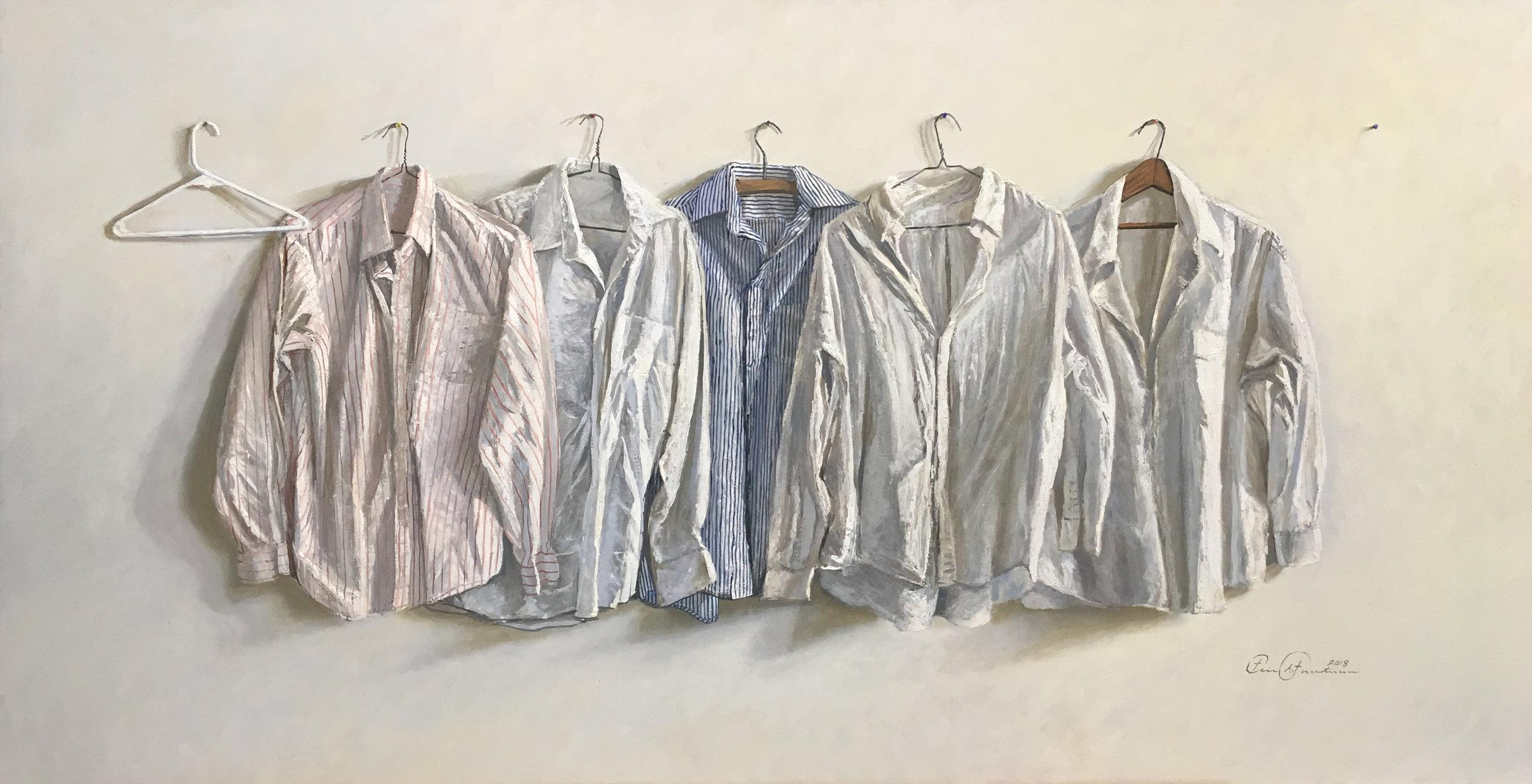 Eric Forstmann. Pale Shirts.