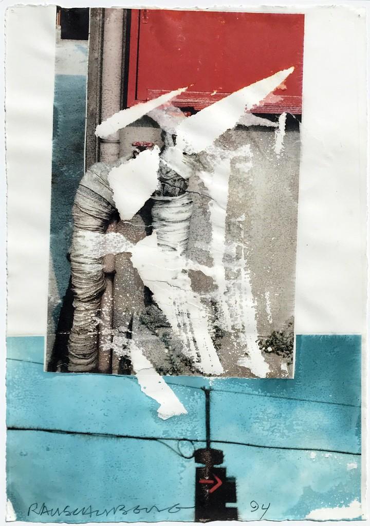 Robert Rauschenberg. Untitled. 94.D032, 1994.