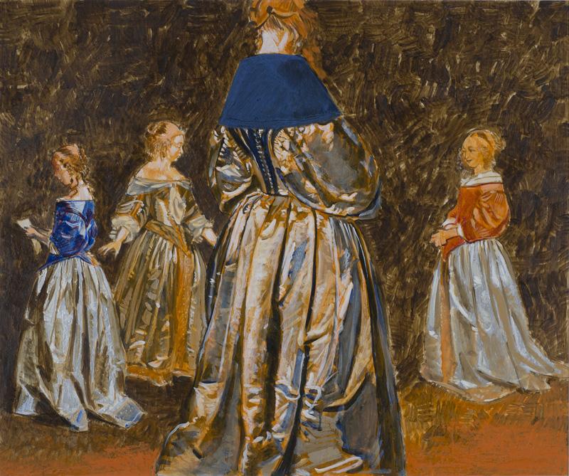 Terboch Silver Dresses, 1979