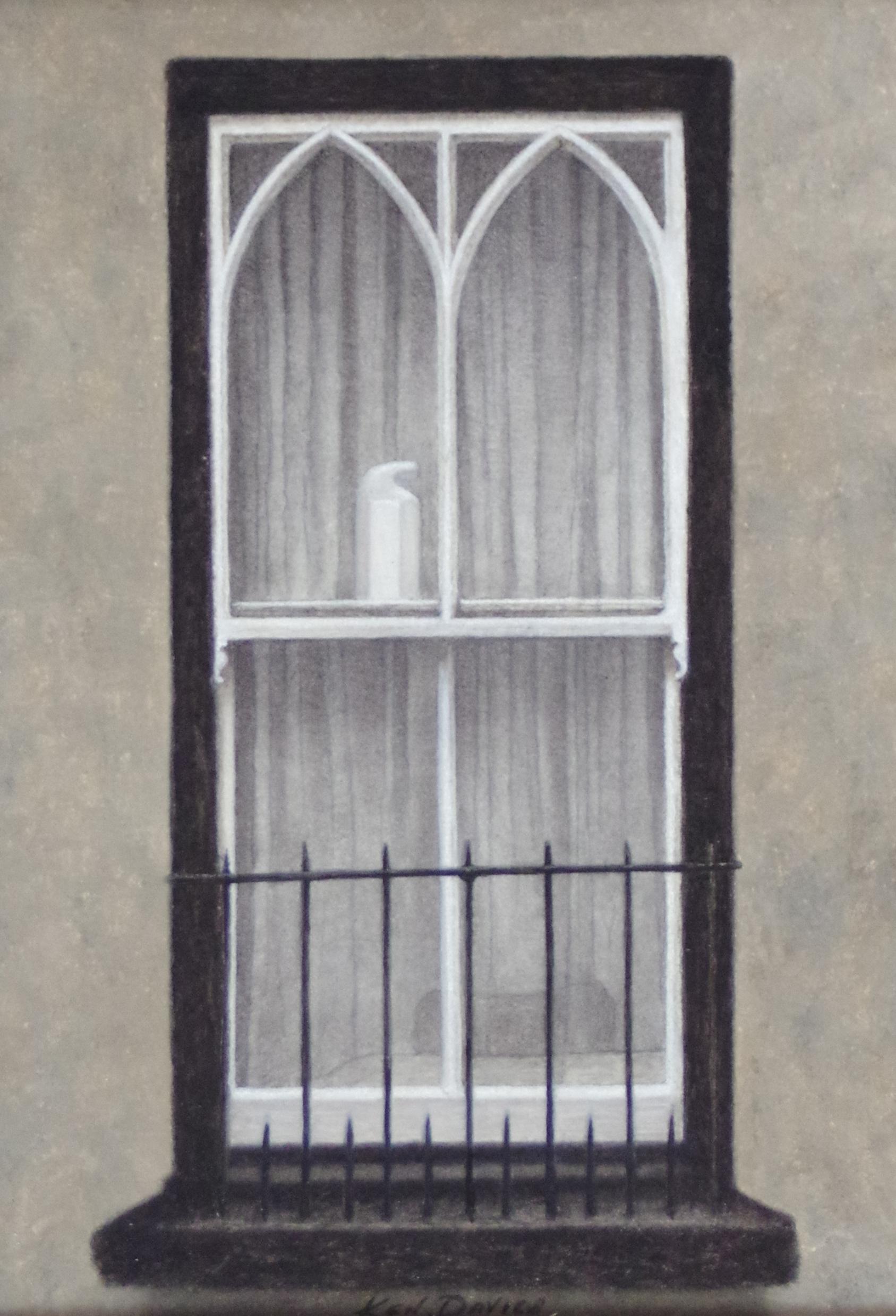 Ken Davies. Gothic Window.