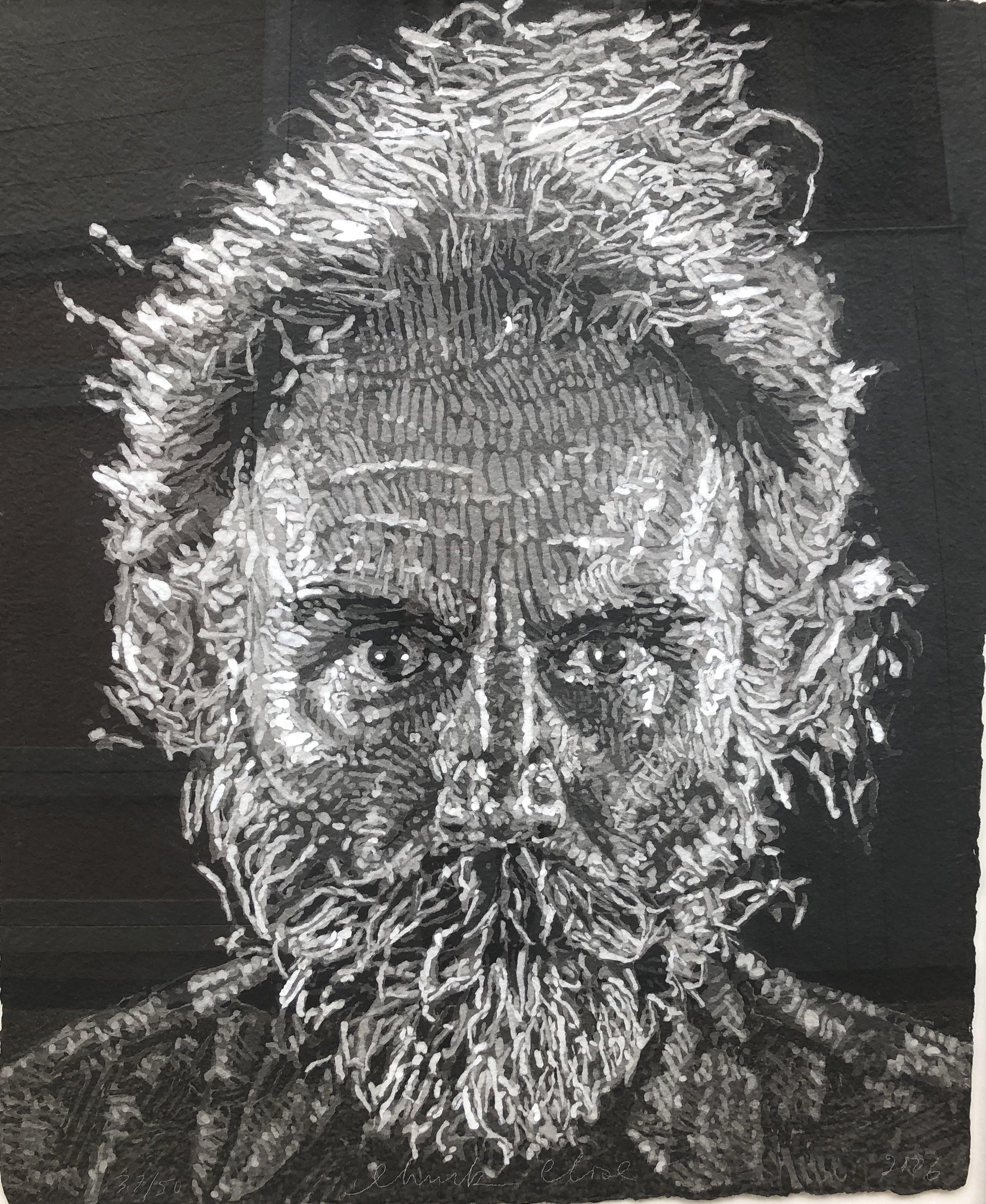 Chuck Close. Lucas Paper/Pulp, 2006.