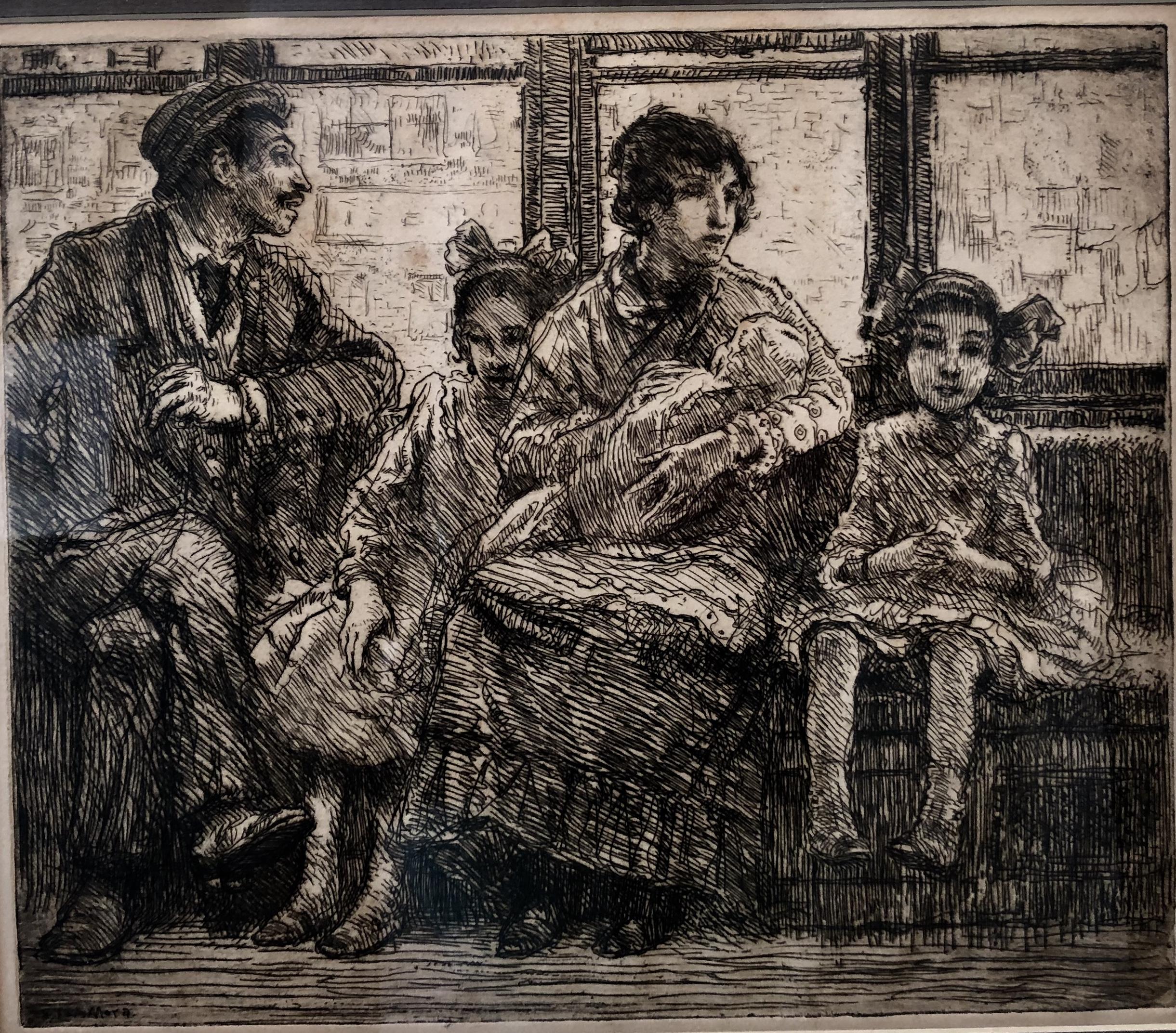 F. Luis Mora, Train Ride.