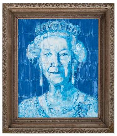 Slonem Her Majesty blue 2019 EA01557.png