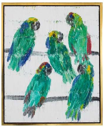 Slonem Untitled 2018 CER01145 parrots.png