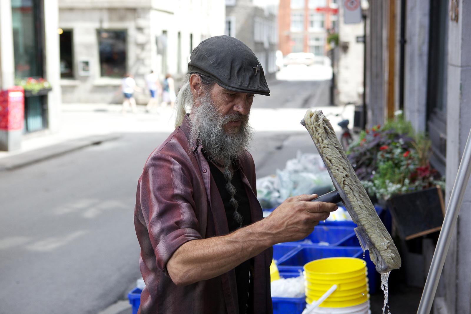 Gaétan, l'ange du Vieux-Montréal, Open File, 2011