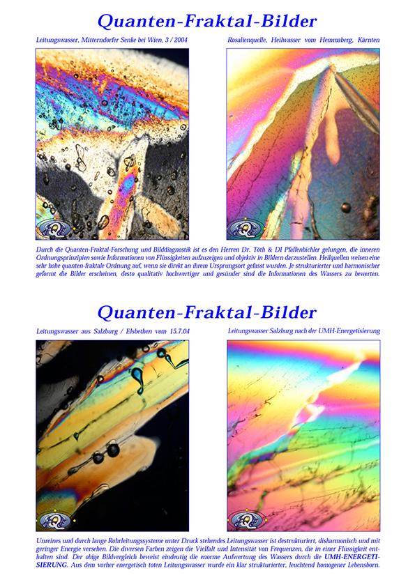 Dr. Töth, DI Pfaffenbichler, Quanten-Fraktal-Bilder, 2004