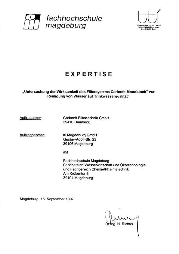 Adsorp  tionsleistung von Kohlenwasserstoffen & Pestizide