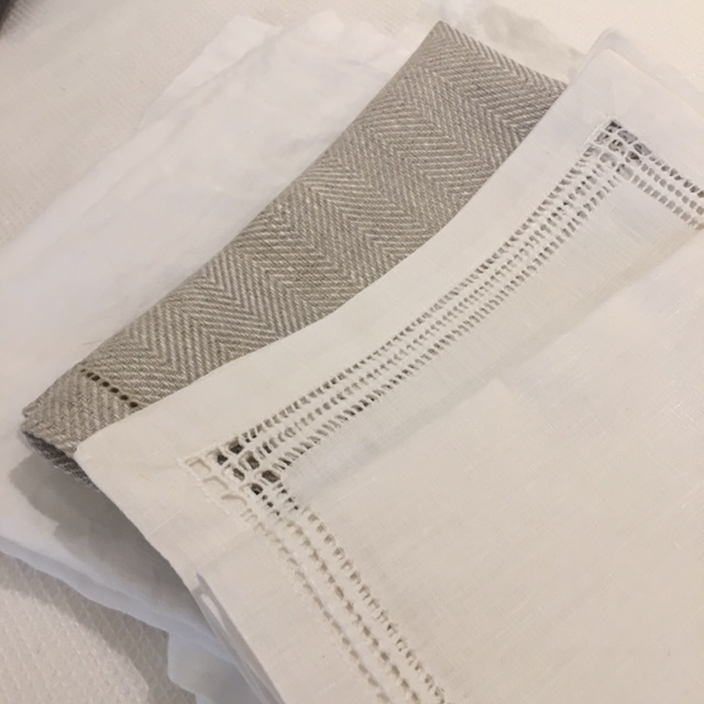 Ashley Meier - Assorted Linen Napkins