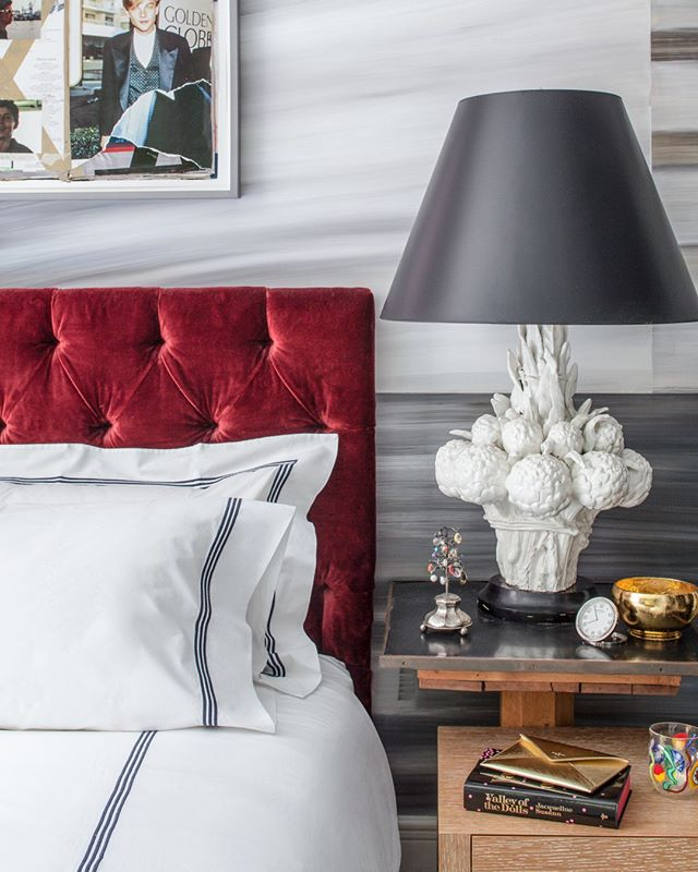 Detail of this Chic #UES bedroom of @whowhatwhit featured in @alexa_nypost, Thanks @jessikar0b0t, @briceyg⁣ . ⁣ .⁣ .⁣ .⁣ #interiordesign #design #homedecor #designer #home #architecture #interior #decor #art #homedesign #house #style #homesweethome #luxurylifestyle #antiques #collection #handmade #instagood #interiordecoration #instahome #interiordesigner #love #instagood #photography #follow #art #beautiful #happy #bradsteinphoto⁣