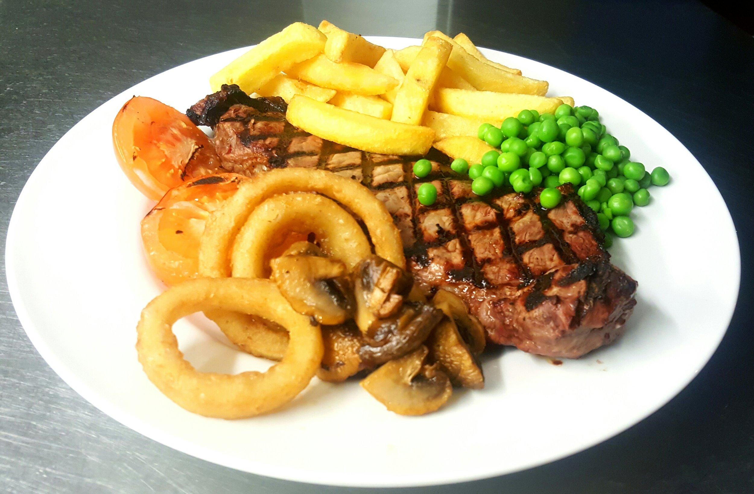 Regular sirloin steak