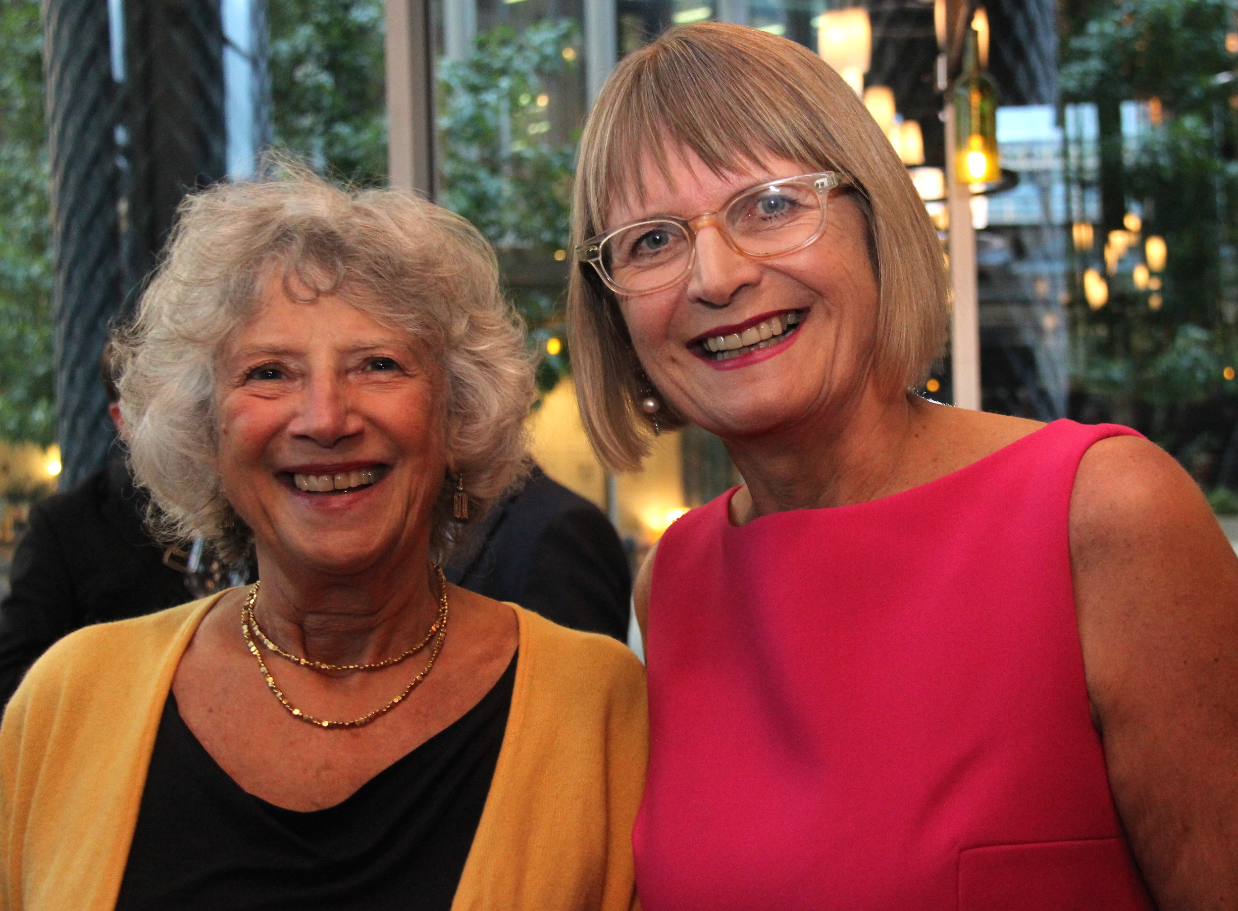 Carmen Calill, founder of Virago, and Jancis