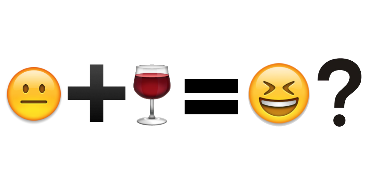 Being funny about wine