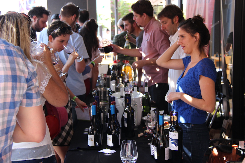 In Santiago, the  Chanchos Deslenguados  wine fair is like Raw or Rootstock; cutting edge, exciting wines