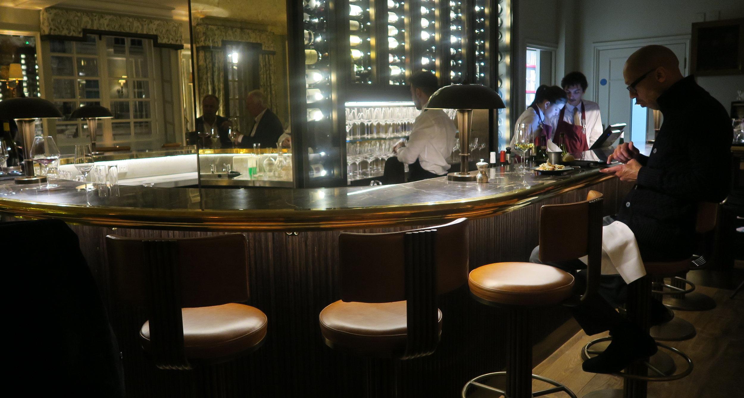 The club room bar
