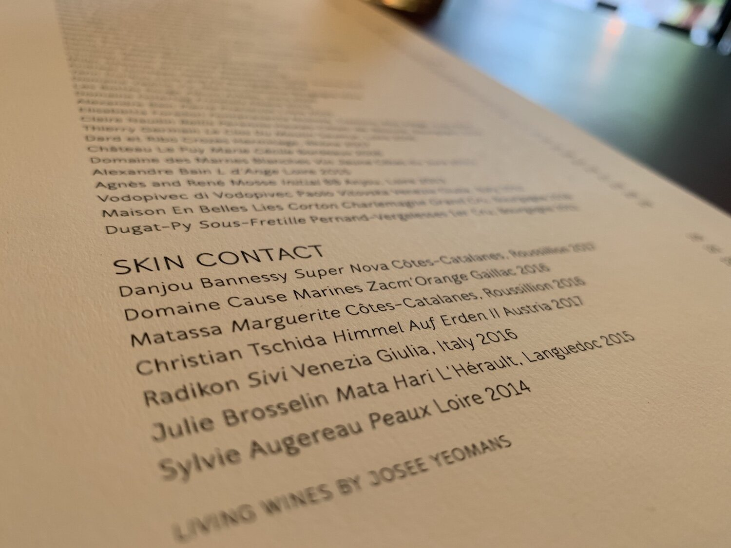 The Skin Contact selection at Le Bon Funk features some much-prized names