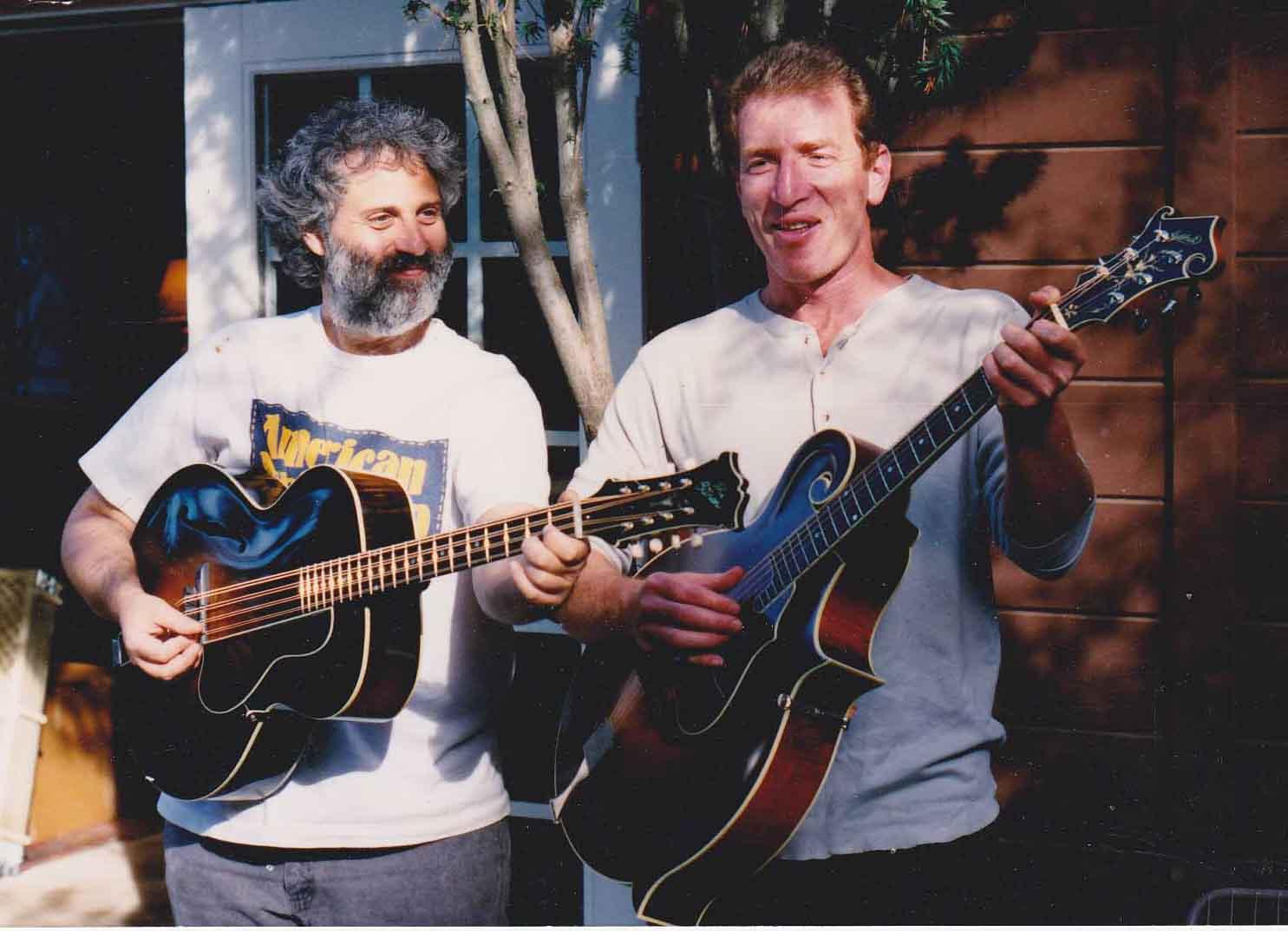 David Grisman  David Weinstock, circa 1993