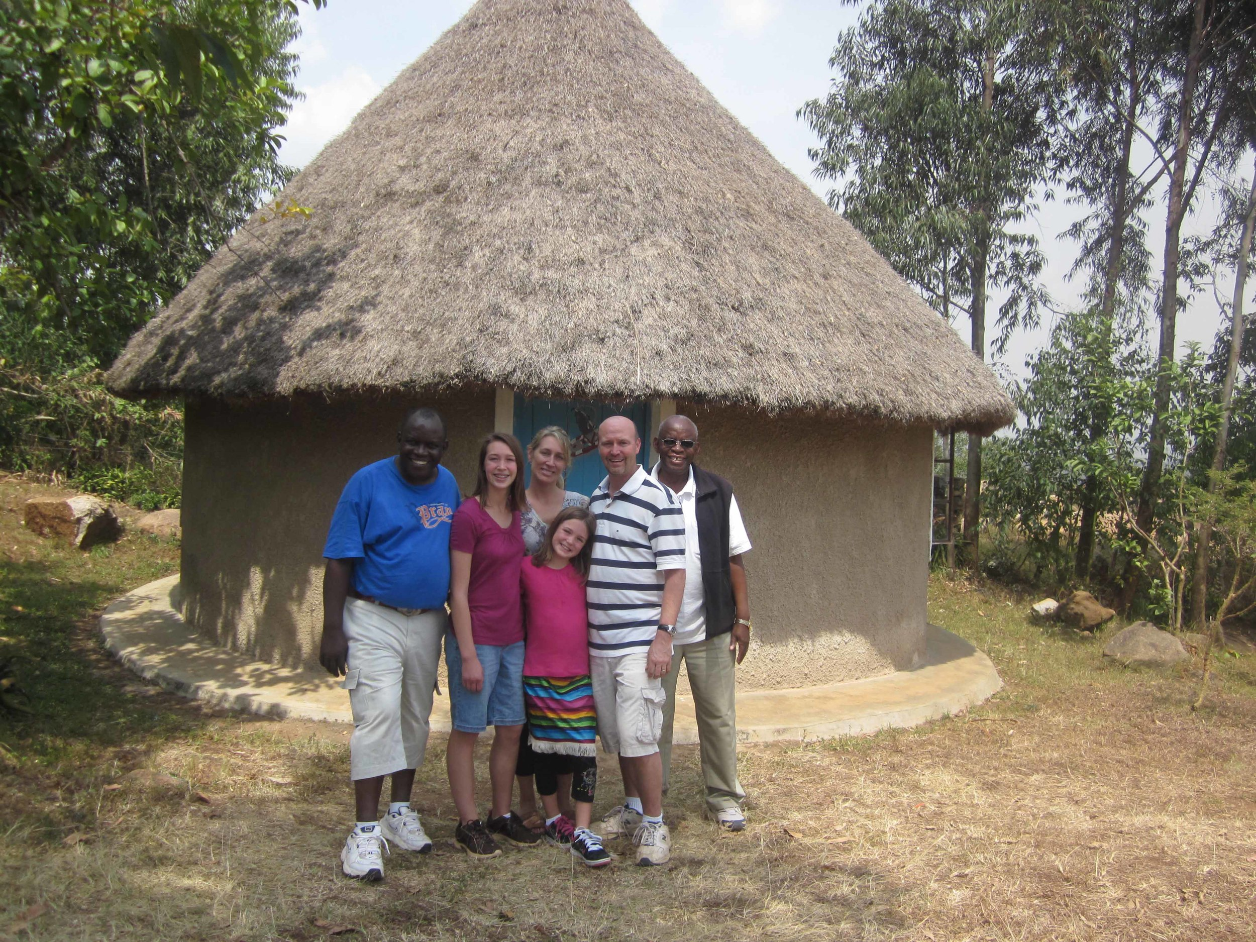 Pastor Randy & his family