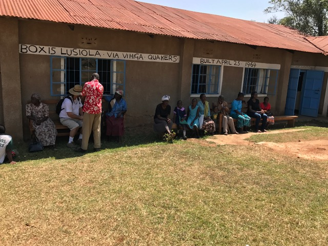 Medical clinic for the community. 50 people came to seek medical attention today from the village. Amanda did an amazing job treating those in need.