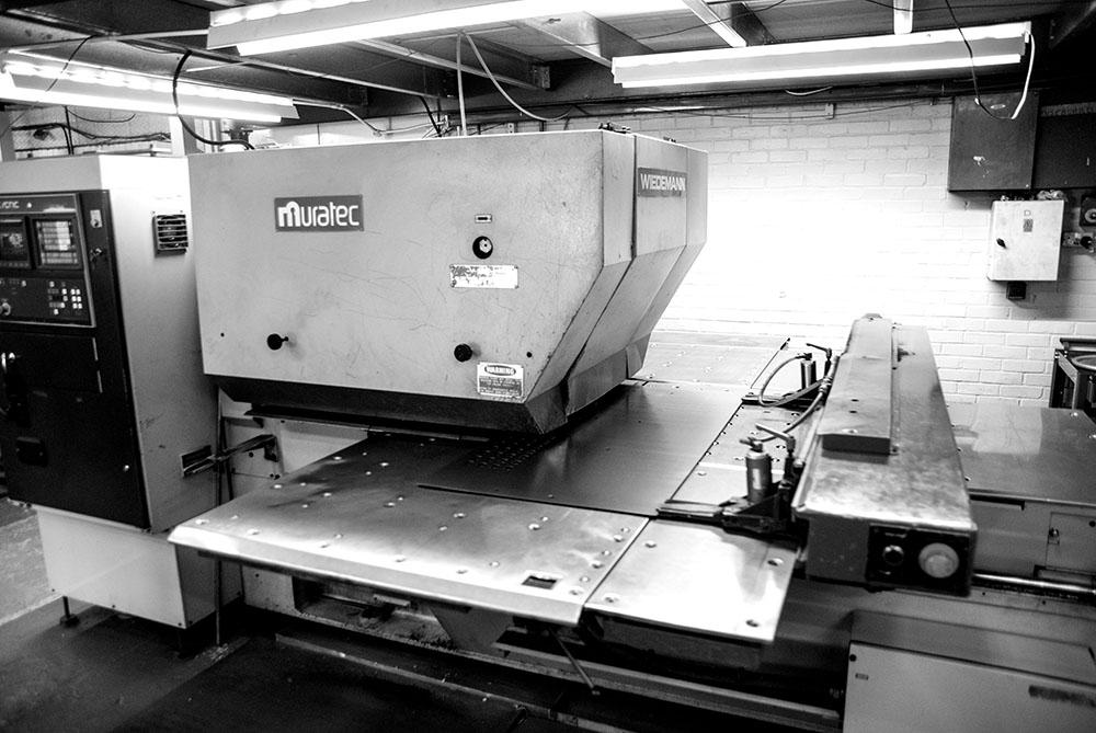 STEP 1A – CNC Punching