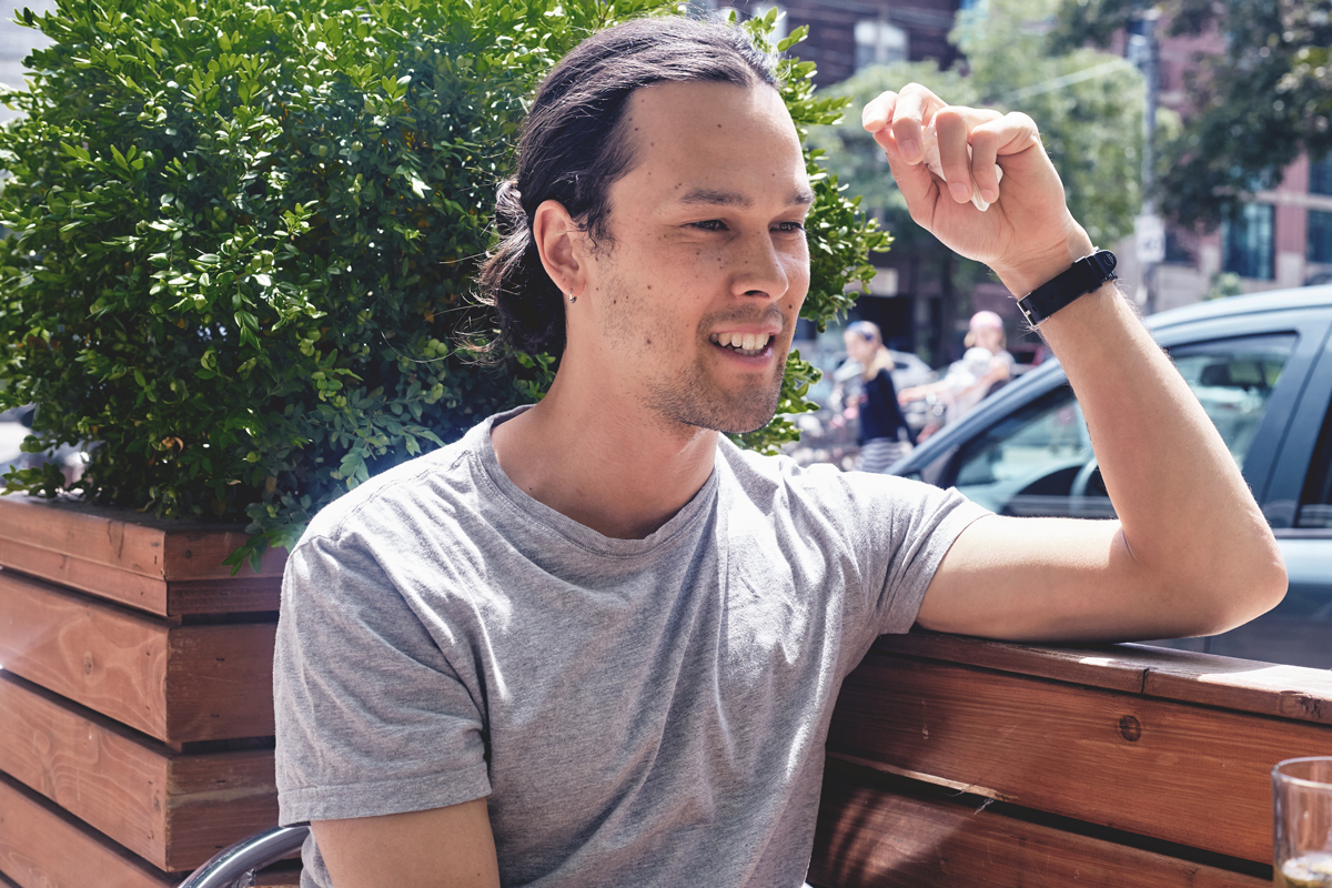 """""""As a human being, you're constantly searching for something"""": Justin Nozuka on his musical past and present, philanthropic future"""