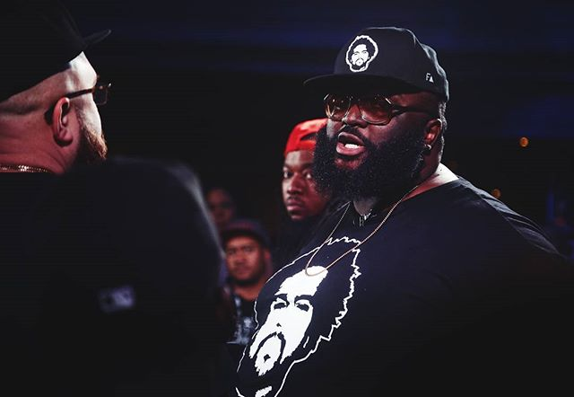 """We can 100% inaccurately confirm that @marvwon's beard is sponsored by Soul Glo."" • • • • •  #Toronto #livemusic #concertphotography #BLACKOUT7  #kotd #kingofthedot #blackout7 #rapbattle #iconcertphoto #battlerap #hiphop #fakenews"