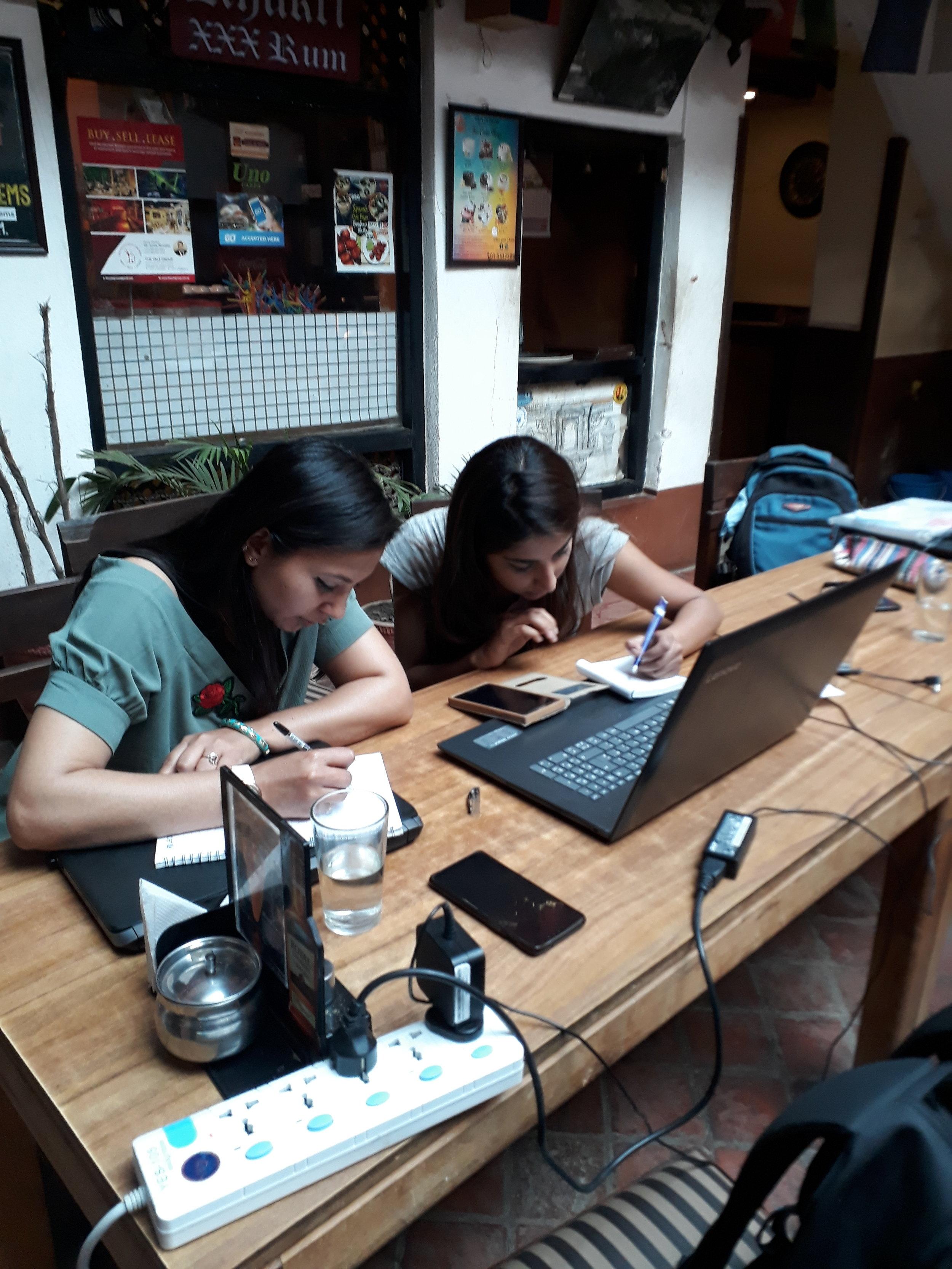 Menstrual Hogsozzle — Nepal Earthquake Recovery Fund