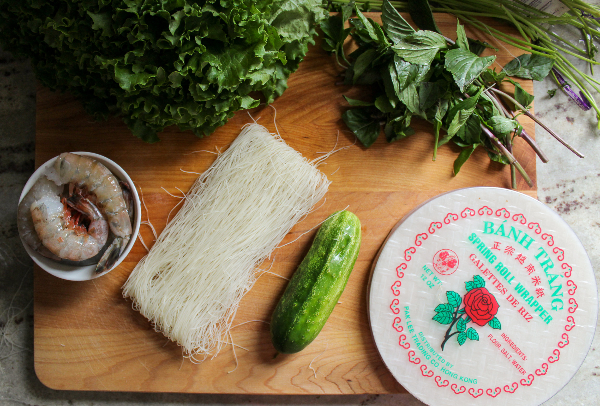 what you need for summer rolls