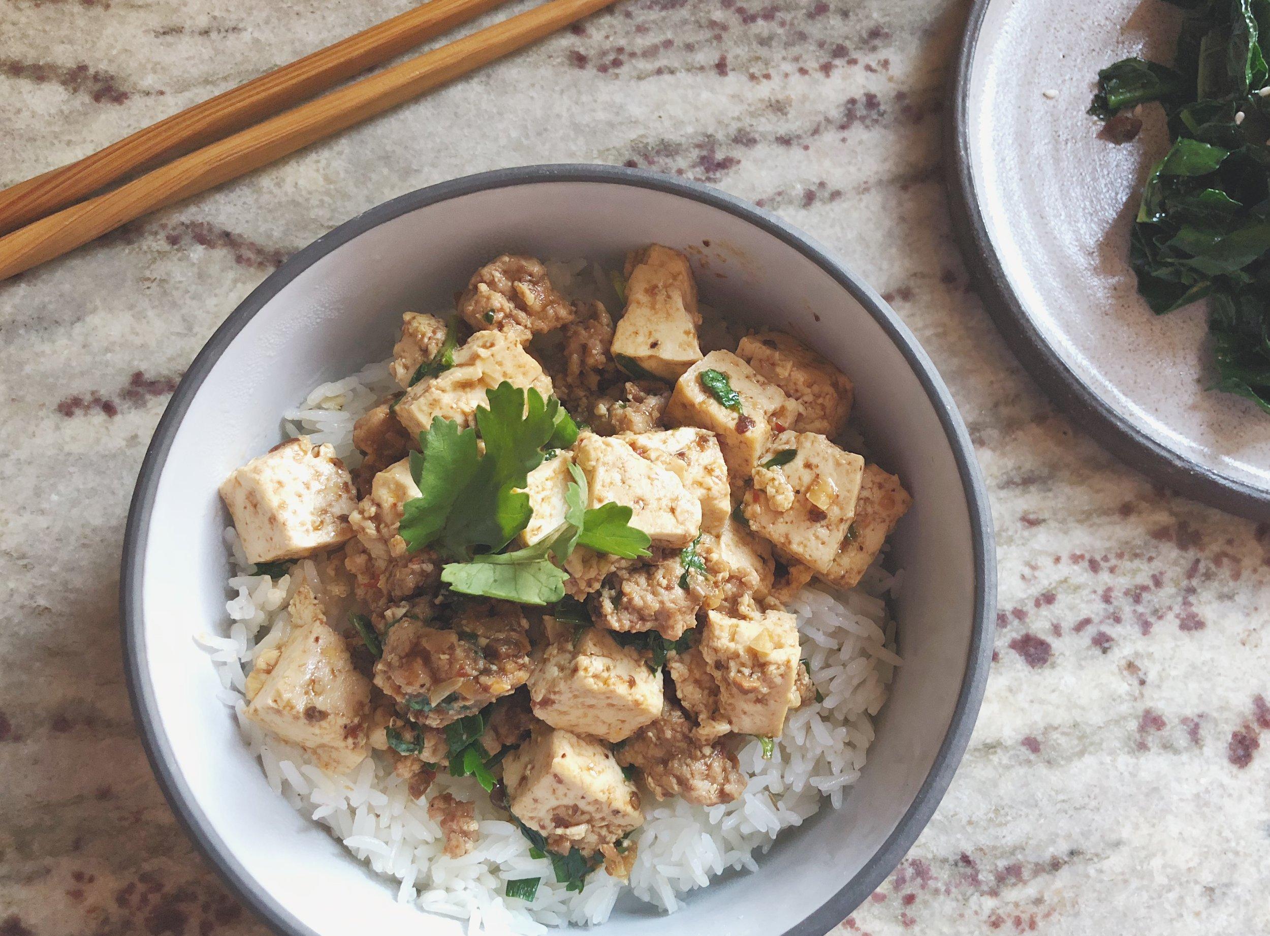 Ma Po Tofu Sichuan