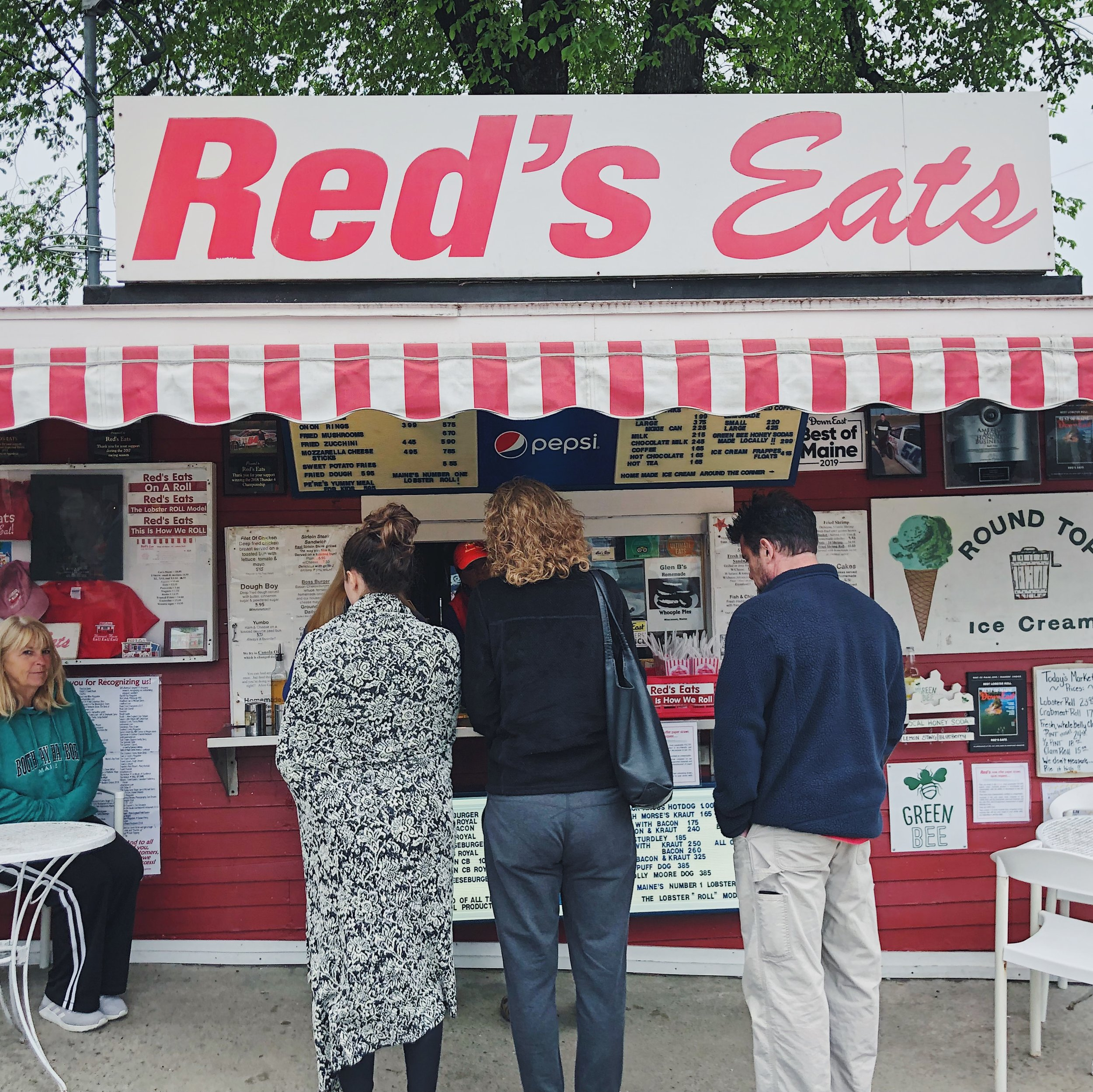 Red Eats Lobster Shack Best in Maine