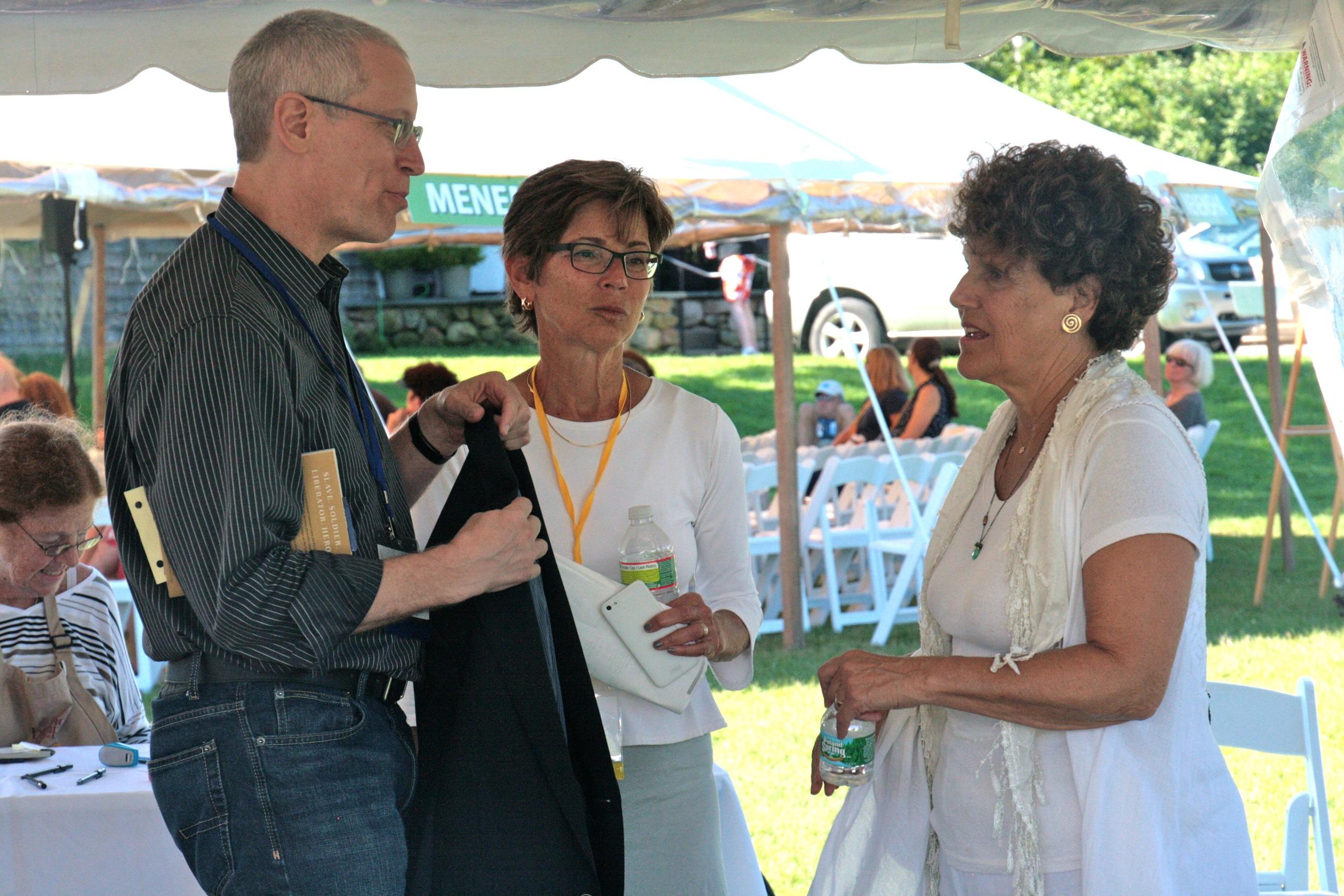 Eric Asimov, Suellen Lazarus, Joan Nathan.jpg