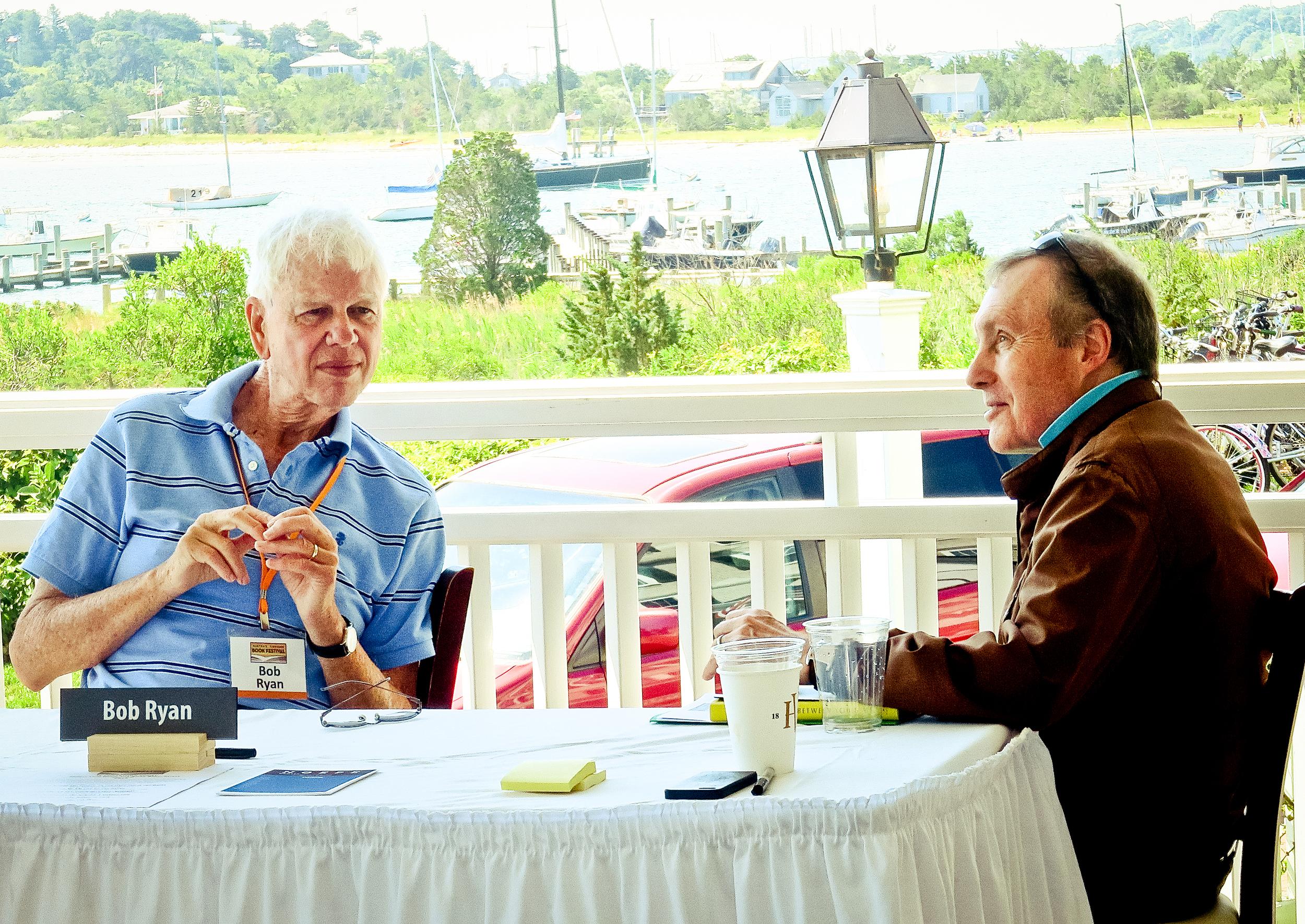 Bob Ryan with George Gibson