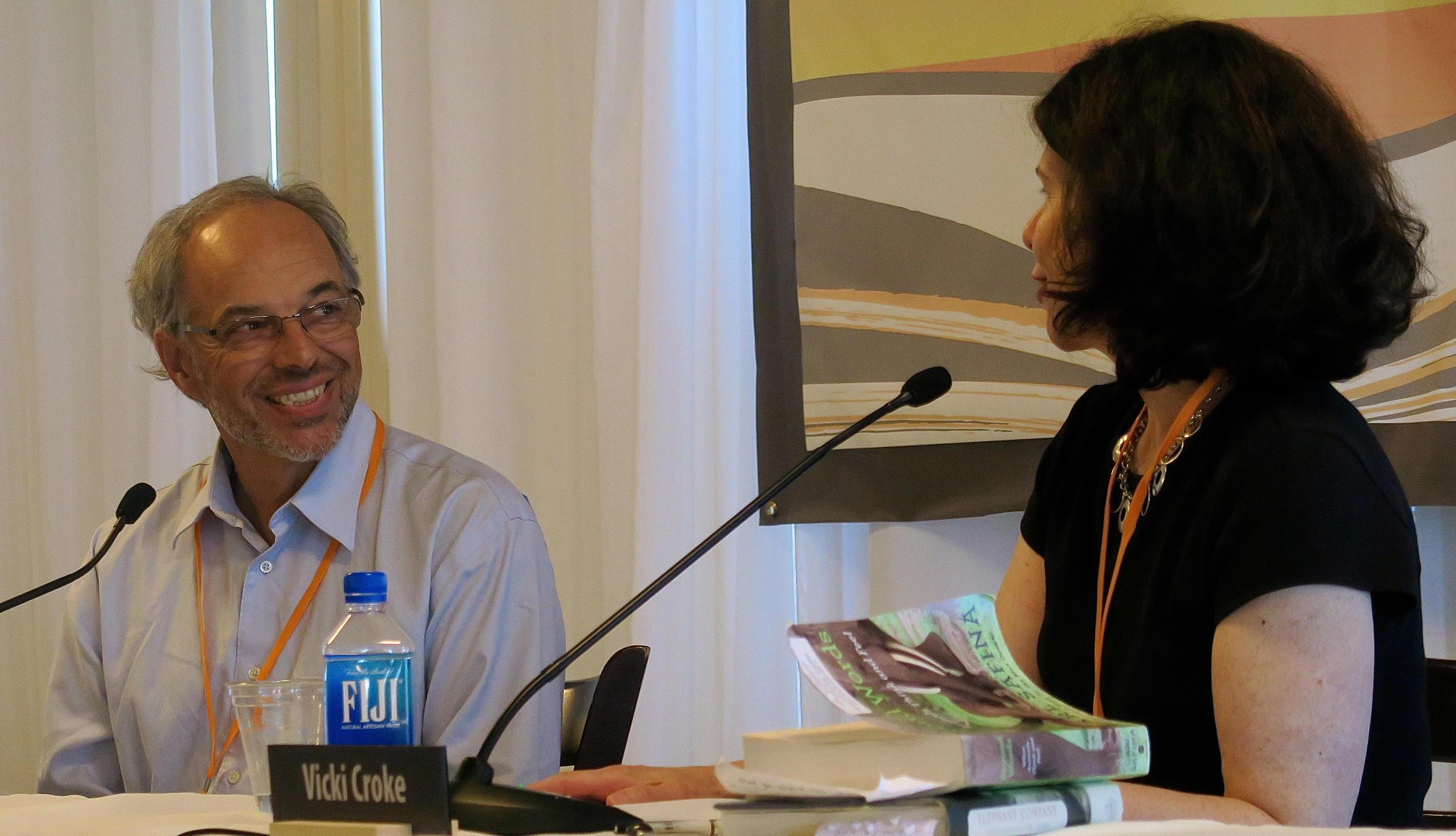 Carl Safina and Vicki Croke