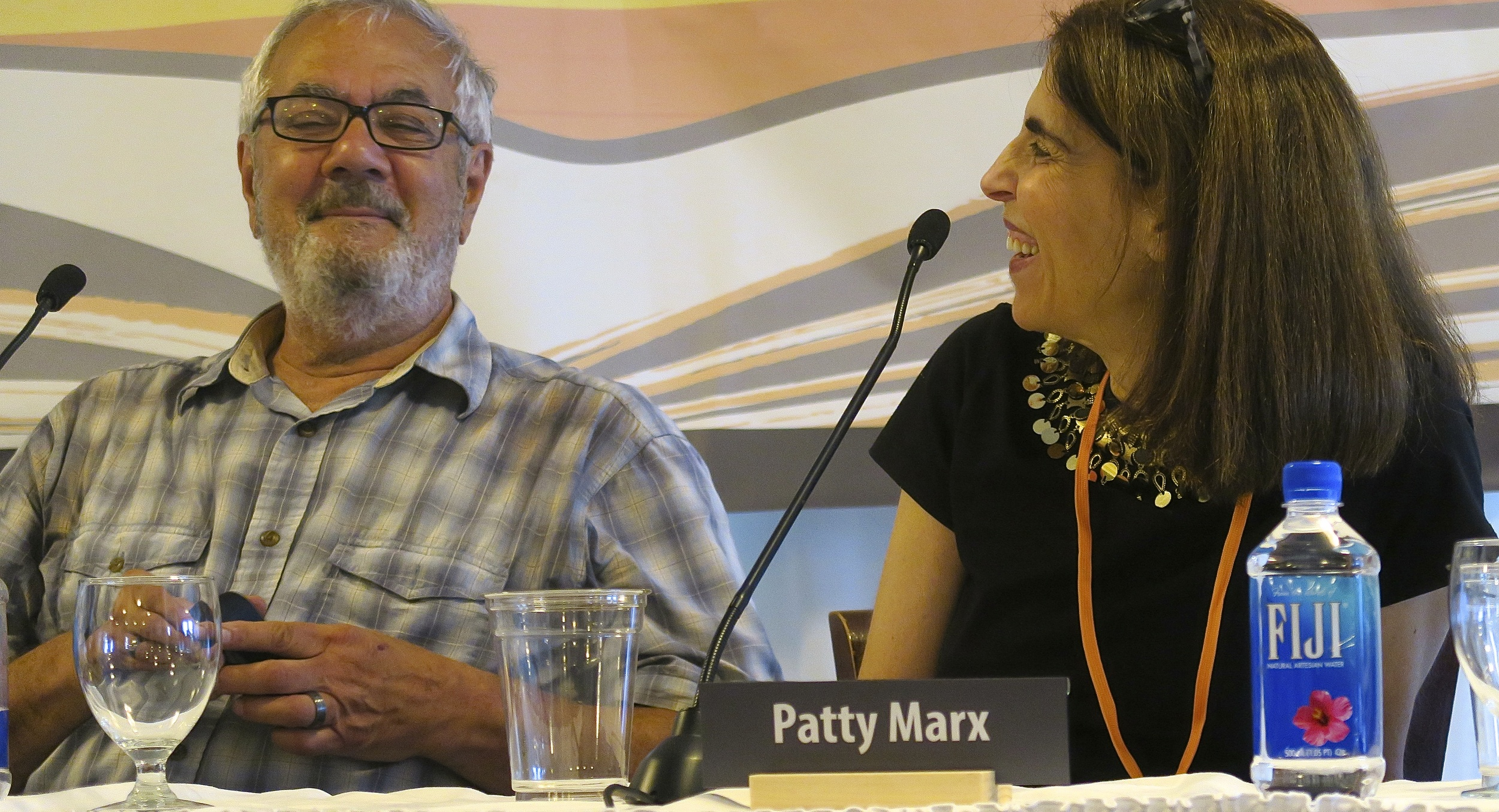 Congressman Barney Frank and New Yorker Writer Patty Marx