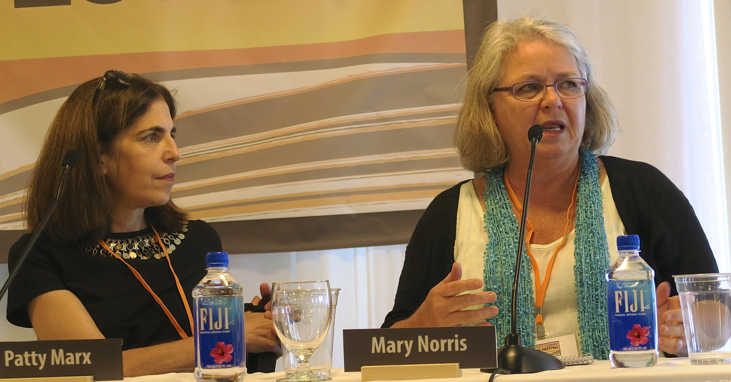 New Yorker Editor Mary Norris and New Yorker Writer Patty Marx
