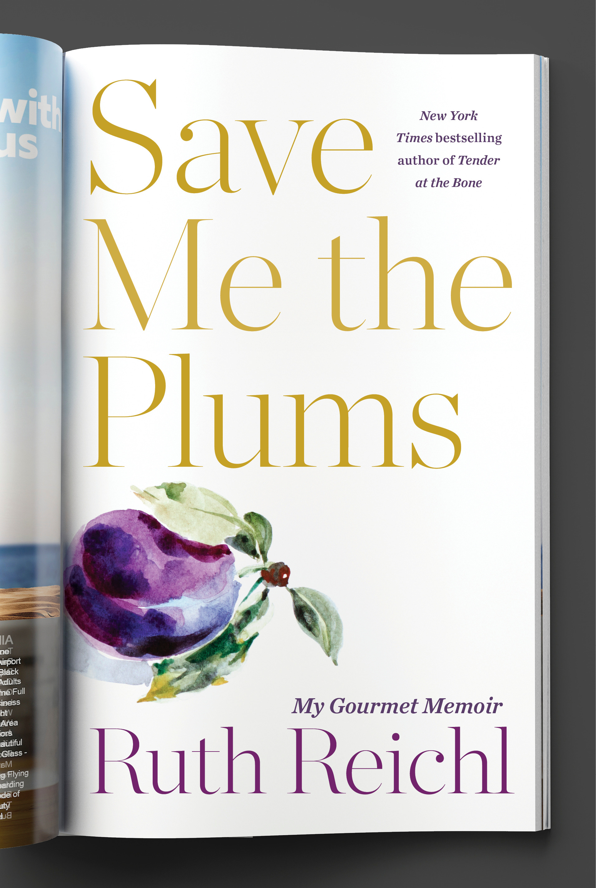 SAVE ME THE PLUMS -- cover.jpg