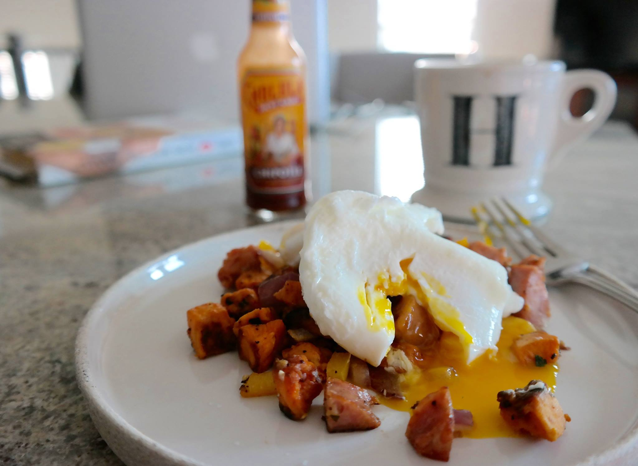 Sweet Potato Breakfast Hash: one of our favorites during this year's breakfast challenge!