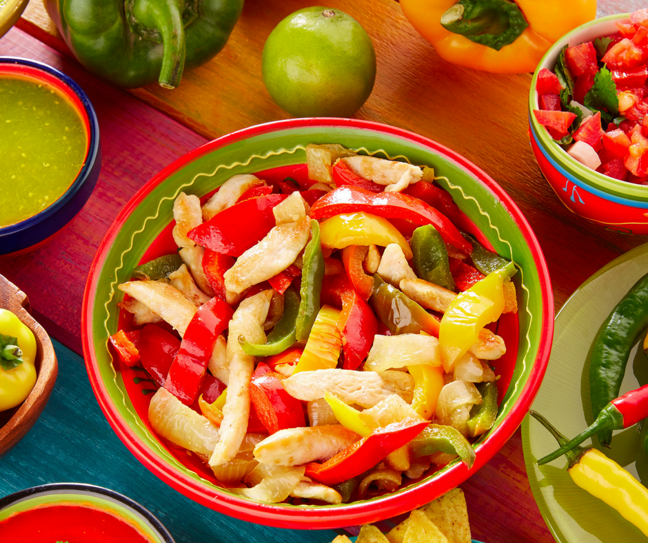ALL THE PROTEIN AND VEGGIES. Yes, please.