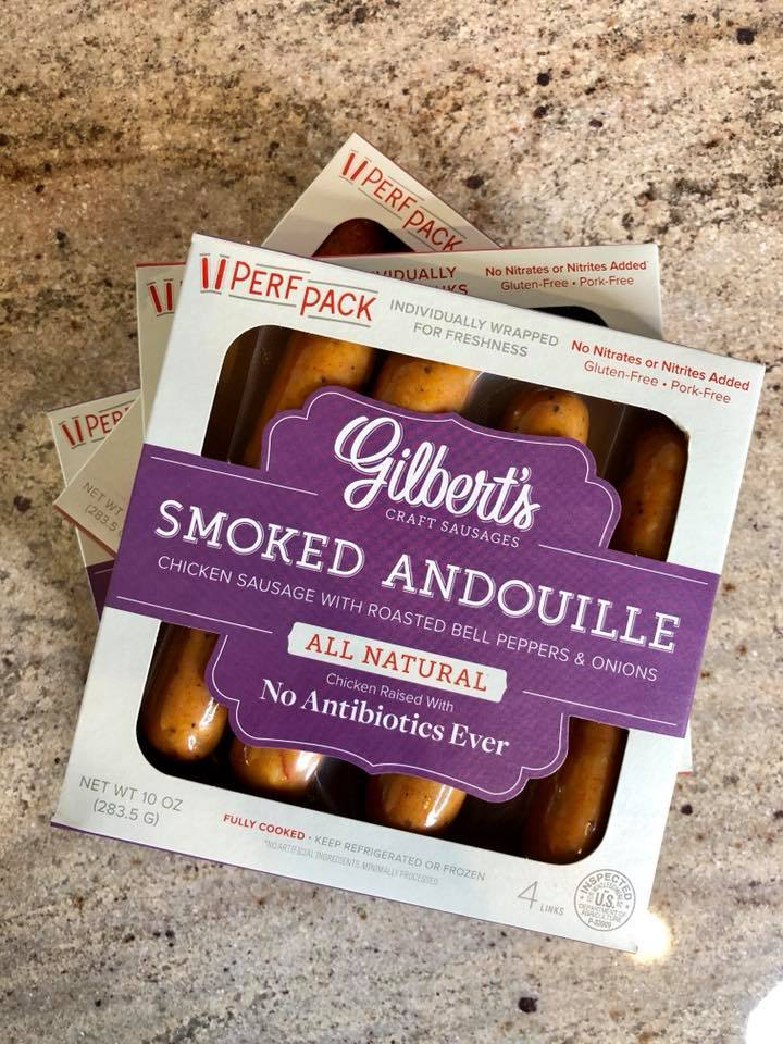 Gilbert's Smoke Andouille Chicken Sausage