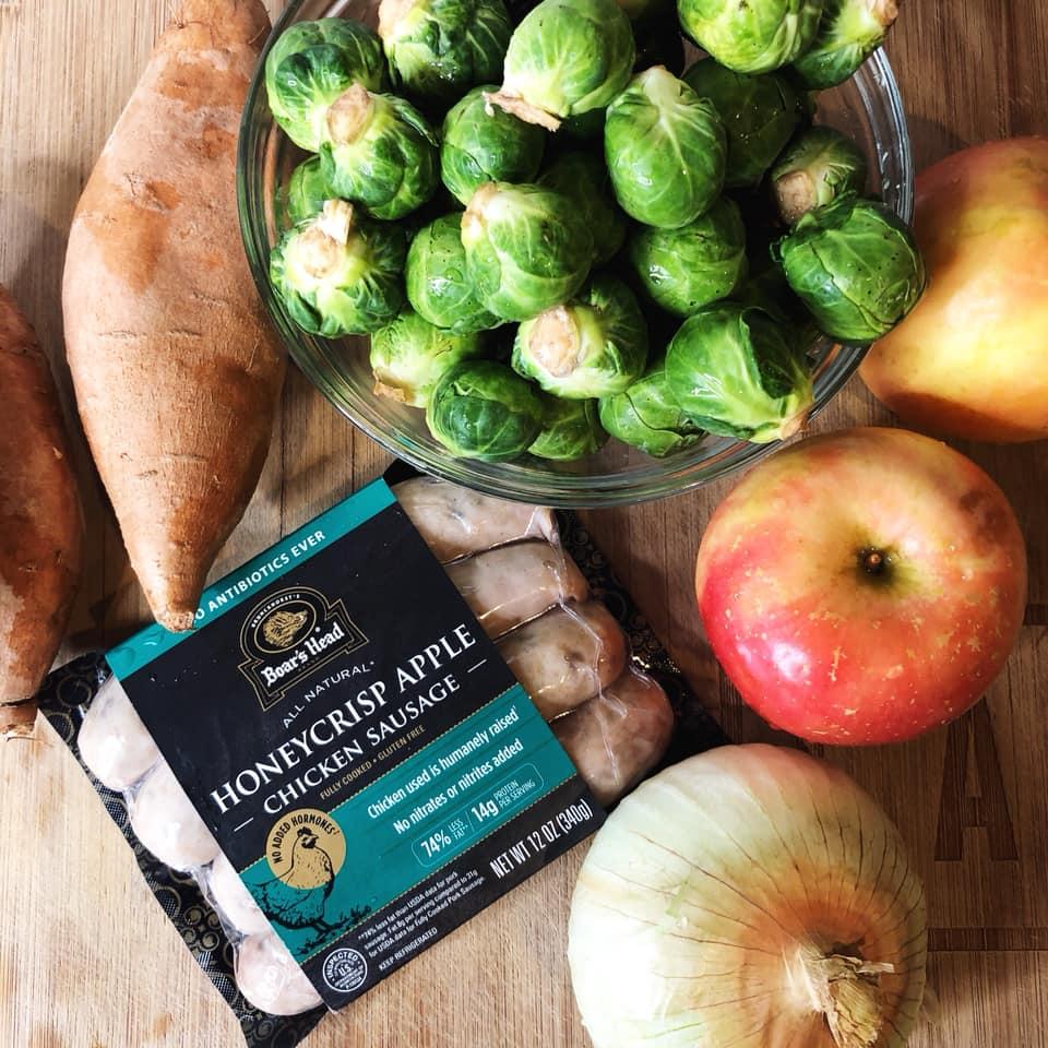 Ingredients Chicken Apple Sausage Breakfast Bowls