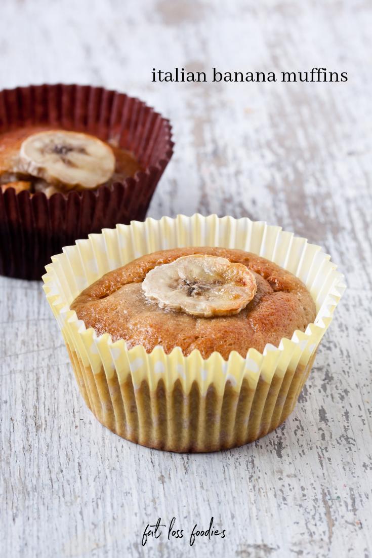 Fat Loss Foodies Italian Banana Muffins