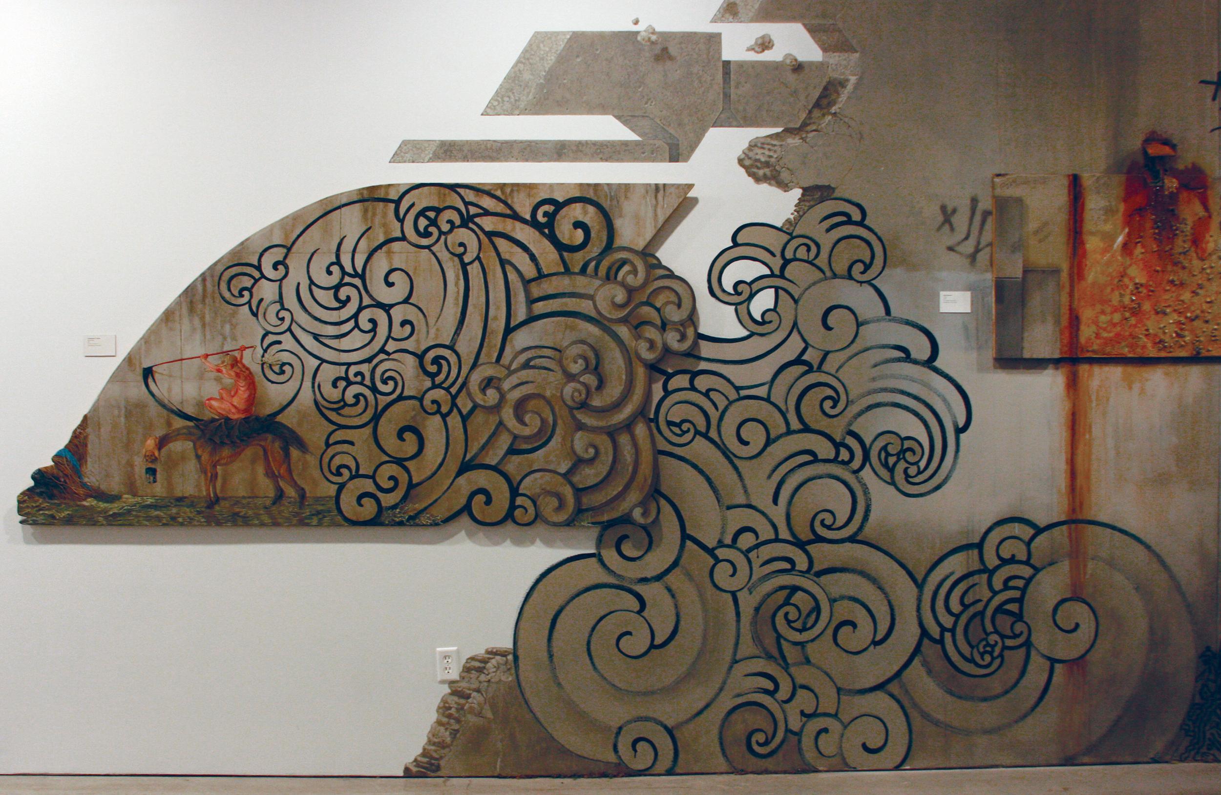 Reclaimed . 2010 - extended installation version, Pasadena Museum of California Art.