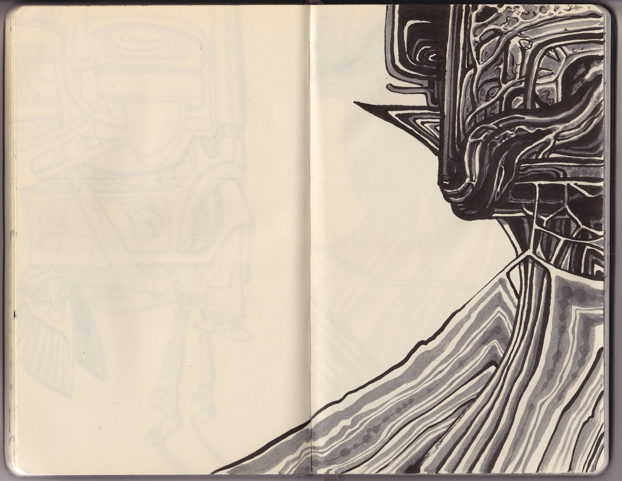 Sketchbook selection, 2015.