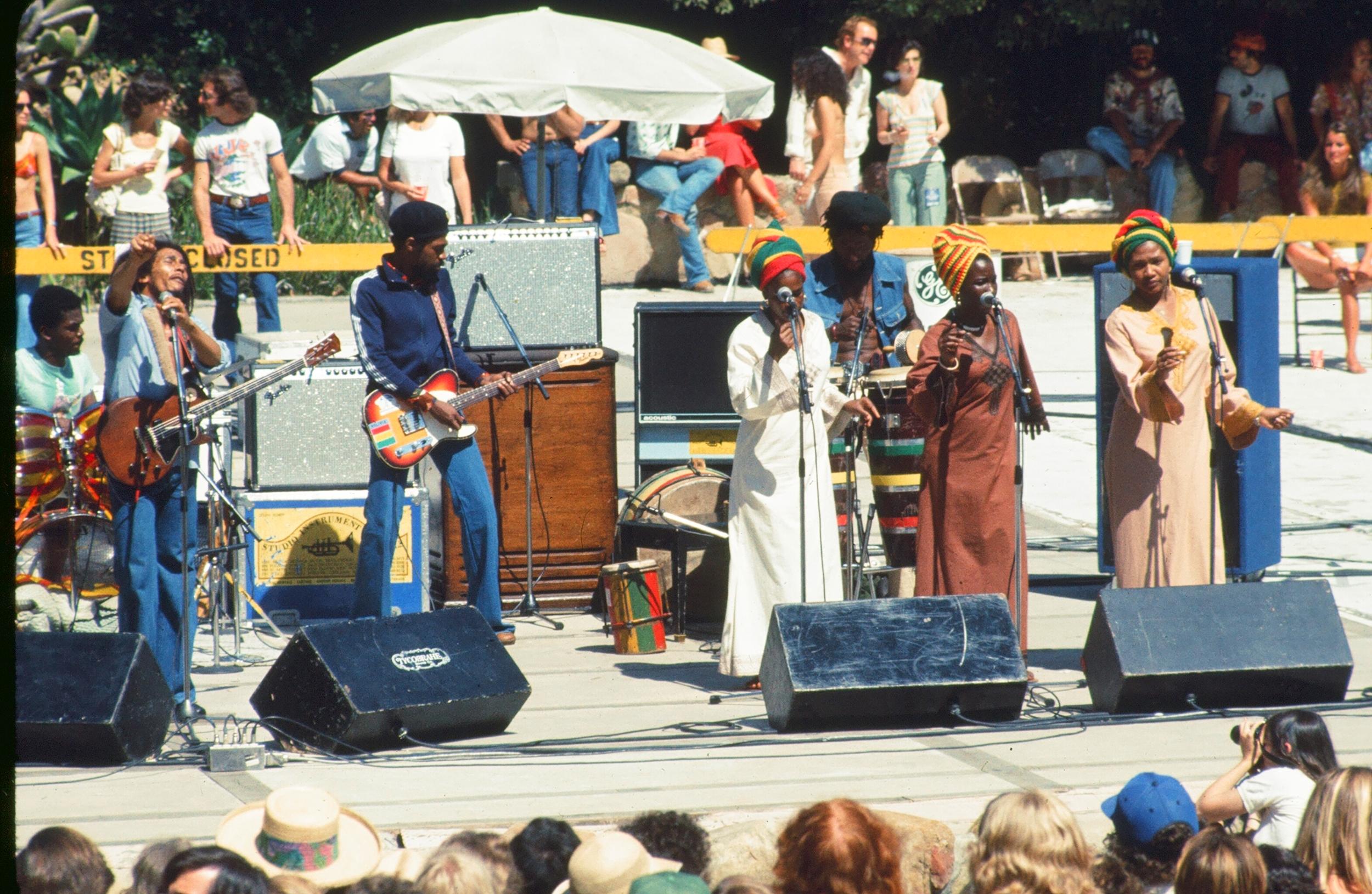 BOB MARLEY  Santa Barbara Bowl, 1977