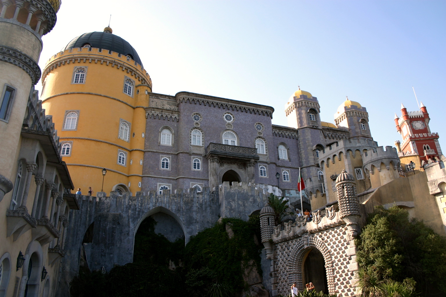 World Heritage Site - Sintra Portugal - Pena Palace....JPG
