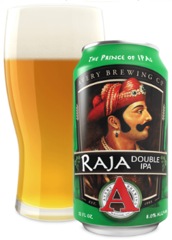 avery brewing raja double review