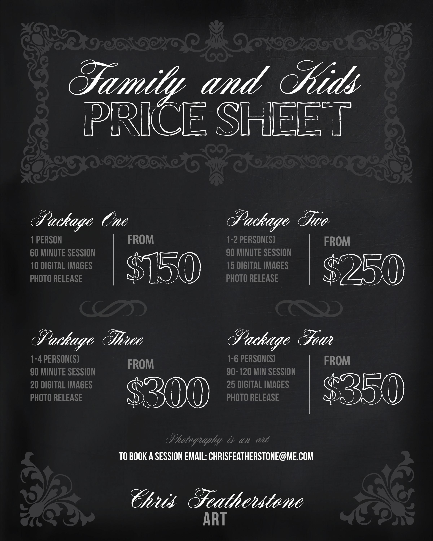 Download Pricing Sheet