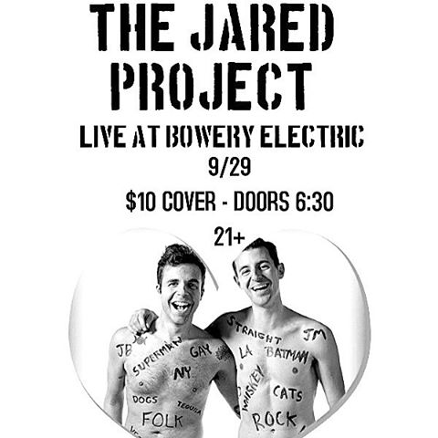 Tomorrow night - Come see us at @theboweryelectric in NYC! doors open for a full night of #livemusic at 6:30 headlined by yours truly playing at 11! SEE U THERE!