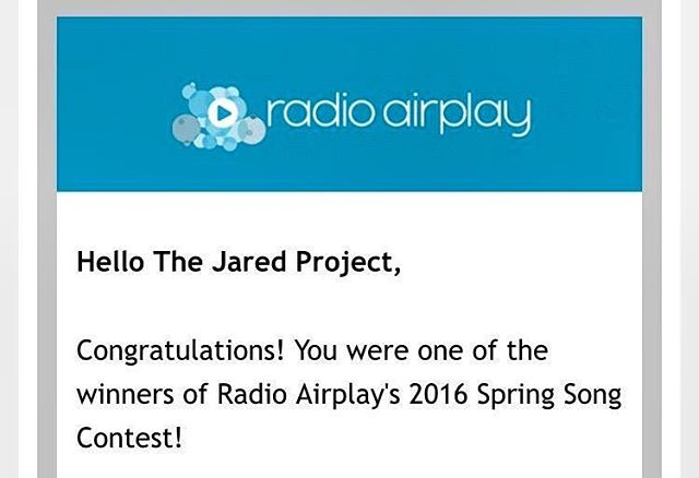 Our song 'Saturn' won Radio Airplay's 2016 Spring Song Contest! Check out the link in our profile to hear our song and the other independent artists chosen! Happy Spring!