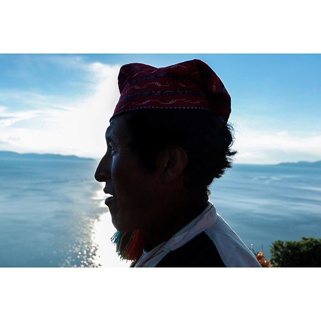 This is Alipio. He was born and raised on Tequile Island. When he was a child it took two days to sail to the nearest city. Now it takes 2 1/2 hours. He has lived in cities before, in Tacna and Lima. Now, he prefers his small island of 2,000. . . . #tequileisland #islatequile #laketiticaca #lagotiticaca #portrait #portraitphotography #portraiture #retrato #sillouette #peru #bolivia #puno #blue #tones