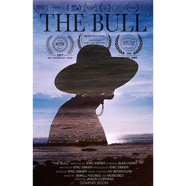 """BIG NEWS! Link in bio!  The Bull, the award-winning short film is now available for purchase/rental exclusively on Vimeo On Demand! When I finished this film a year and half ago, I had a pipe dream of getting accepted into one surf film festival. The Bull has now shown in over 20 countries and has won Best Picture, Best Documentary, and two popular vote awards. It has been part of a world tour supporting ocean conservation and it has altered the course of my life. It's been a long process getting this project legal and ready for distribution, I appreciate everyone's patience and support. Enjoy the film and thank you for supporting independent artists!  Winner- """"Best Picture"""" Short Film Category- Carolina Surf Film Festival Winner- """"Best Documentary"""" Short Film Category- Florida Surf Film Festival Winner- """"Audience Award""""- Portuguese Surf Film Festival Winner- """"Filmmaker Award, Audience Appreciation"""" - Save the Waves Film Festival Tour  A secret spot in Baja California, hundreds of miles from civilization. A old milk van converted into the perfect surfing mobile. A 67-year old man, at the peak of his physical fitness and in line with mother nature every step of the way. """"The Bull"""" is the story of San Diego surfing legend Glen Horn and his journey to a unconventional lifestyle. . . . #thebull #glenhorn #vimeoondemand #availablenow #bestpicture #bestdocumentary #audiencechoice #awardwinner #bestinshow #shortfilm #shortdoc #surffilm #surfdoc #surfbaja #sandiegosurf #independentartist #documentary #surf #surfing #surfdocumentary"""